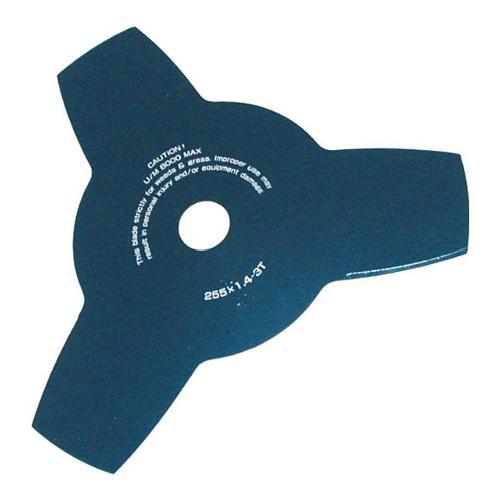Lama decespugliatore Blue Bird nero 255 mm  con  foro centrale 25,4 mm 600250