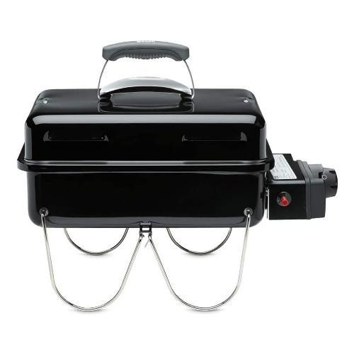 Barbecue Weber 1141056 Go-Anywhere BBQ Portatile GO-Anyware gas 1141056 Black
