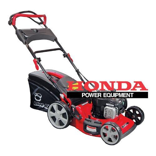 Tagliaerba motore Blue Bird 4 T motorizzato Honda 166 cc Taurus H46TWS nero e rosso