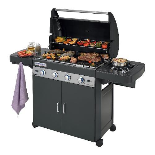 Barbecue Metano/GPL Camping Gaz 2000033885 4 Series Classic LS Plus D DualGas Nero
