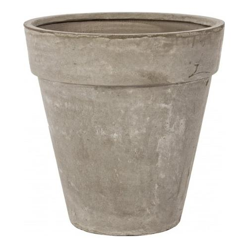 Vaso piante Bizzotto CEMENT fibra di vetro e argilla sabbia D. 54,5 x h. 55  cm 0790507