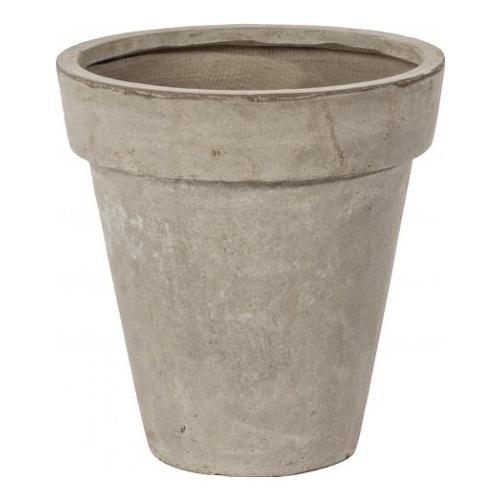 Vaso piante Bizzotto CEMENT fibra di vetro e argilla sabbia D. 37 x h. 38  cm 0790503