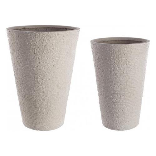 Set vasi piante Bizzotto ROCCIA sabbia 0790550