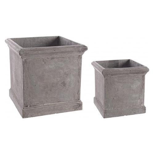 Set vasi piante Bizzotto CEMENT grigio 0790558