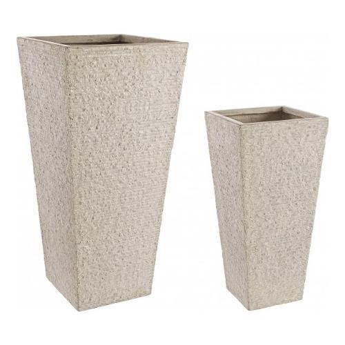 Set vasi piante Bizzotto ROCCIA sabbia 0790549