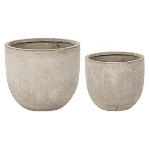 Set vasi piante Bizzotto CEMENT sabbia 0790566