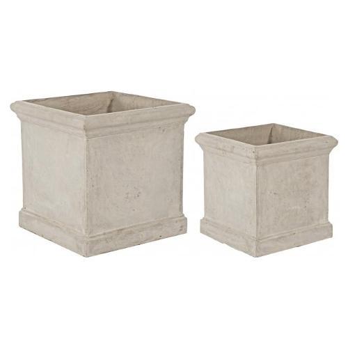 Set vasi piante Bizzotto CEMENT sabbia 0790563