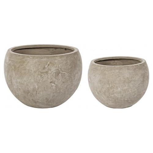 Set vasi piante Bizzotto CEMENT sabbia 0790562
