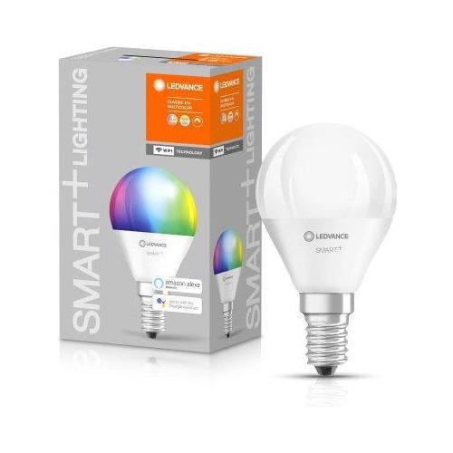 Lampadina led SMART Ledvance SMART+ WiFi Mini bulb multicolor 40