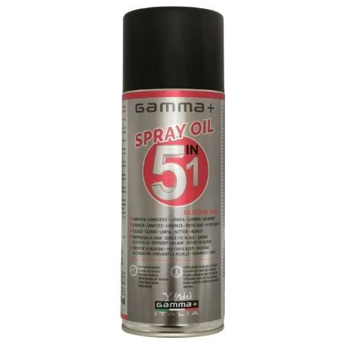 Olio lubrificante Gamma+ Spray oil 5 in 1 Bomboletta aerosol 400 ml