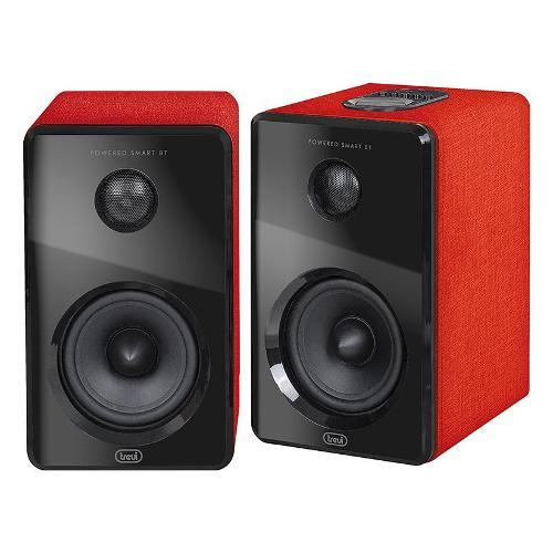 Coppia casse acustiche Trevi AVX570BT Rosso e nero