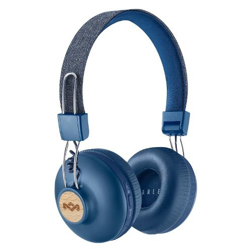 Cuffie microfono bluetooth Marley Positive Vibration 2 EM-JH133-DN - Sovraurali On Ear Wireless Stereo