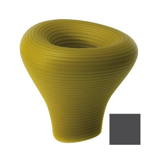 Vaso arredo interno ed esterno Plust Tambo nero perla 73 x 75 x 73  cm 6222-87