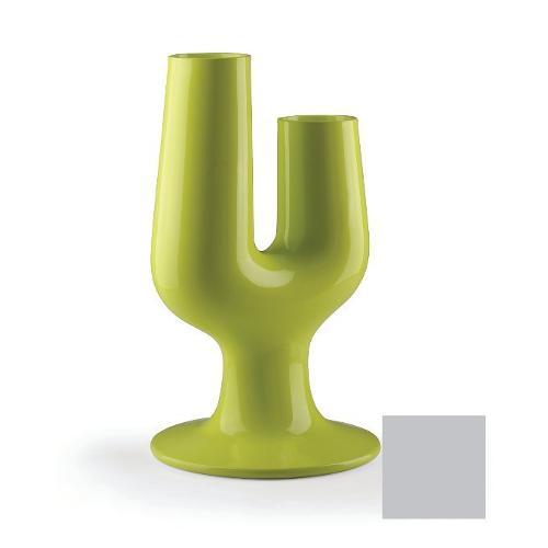Vaso arredo interno ed esterno Plust Cactus argento metallizzato 74 x 78 x 126  cm 6821-c8