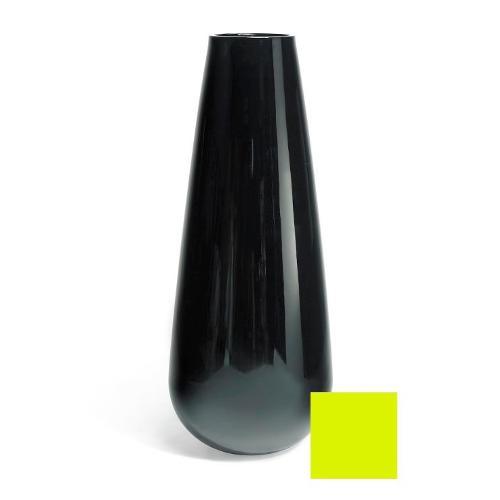 Vaso arredo interno ed esterno Plust Buba verde acido laccato D. 71 x h. 175  cm 6502-86