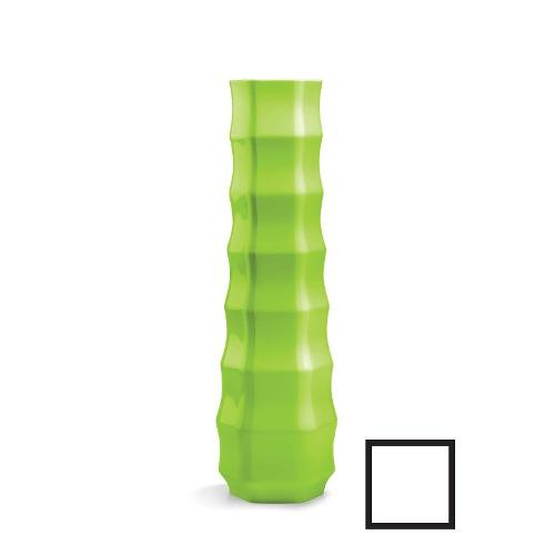 Vaso arredo interno ed esterno Plust Roo bianco 51 x 51 x 175  cm 6235-c2