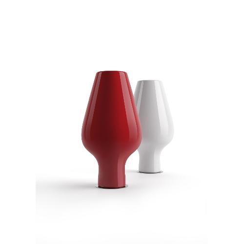 Vaso arredo interno ed esterno Plust Harbo rosso orientale laccato D. 94 x h. 175  cm 6569-d7
