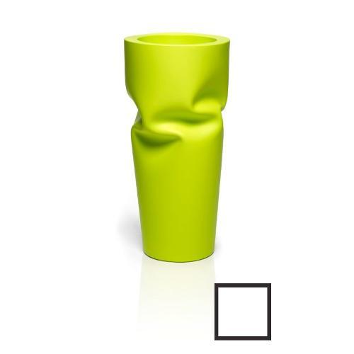 Vaso arredo interno ed esterno Plust Saving Space Vase bianco D. 57 x h. 122  cm 6247-c2