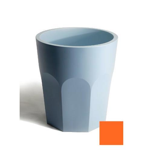 Vaso arredo interno ed esterno Plust Cubalibre arancio D. 88 x h. 98  cm 6223-a5
