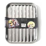 Ompagrill Vassoio Grill Inox per BBQ 03424