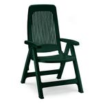 Scab Giardino Poltrona Elegant 5 pos. Verde 1101