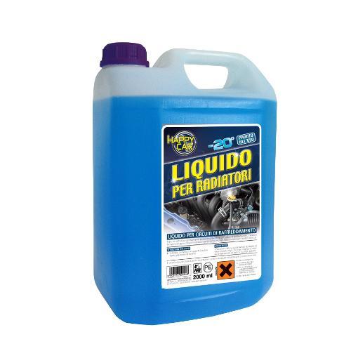 Liquido radiatore Labor Chimica da -20° a 105°C Azzurro Tanica lt 5,0 0046