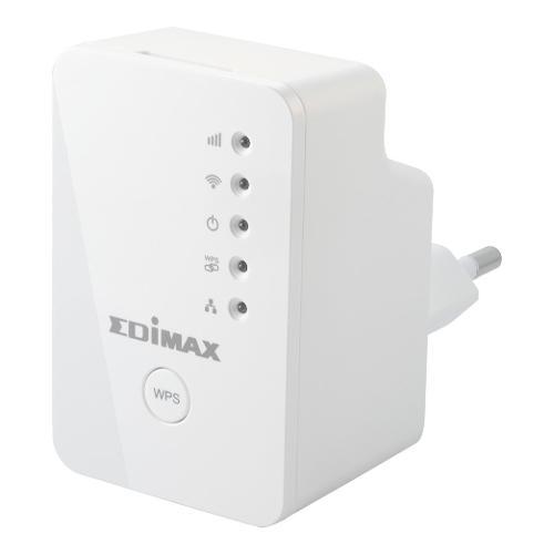 Extender Wi Fi Edimax N300 Mini Unità di estensione Wi-Fi EW-7438RPNMINI- Wi-Fi 4 (802.11n) Single-Band (2.4 GHz)