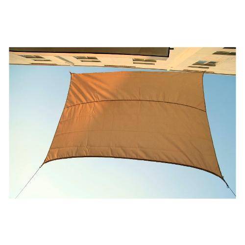 Tenda da sole Amicasa Tenda Ombreggiante 3,5x2,5 m Rettangolare Beige