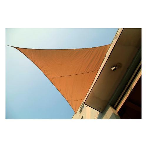 Tenda da sole Amicasa Tenda Ombreggiante 5x5x5 m Vela Beige
