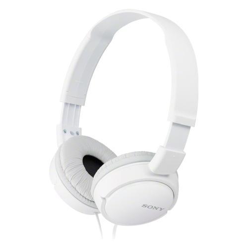 Cuffie microfono filo Sony MDR-ZX110AP MDRZX110APW.CE7 - Stereo Sovraurali On Ear Mini-jack 3,5 mm