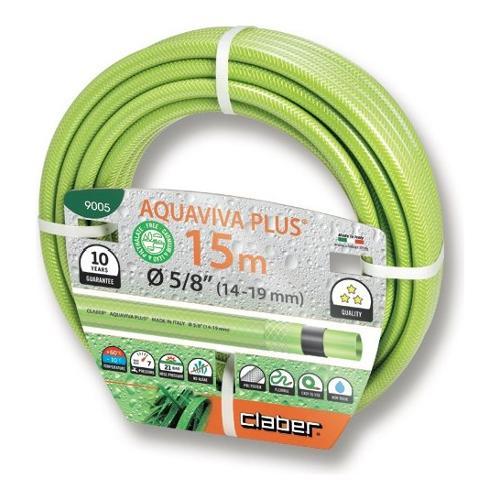 """Tubo irrigazione Claber Aquaviva Plus 15 mt 5/8"""" 9005"""
