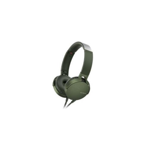 Cuffie microfono filo Sony MDR-XB550AP MDRXB550APG.CE7 - Stereo Sovraurali On Ear Mini-jack 3,5 mm