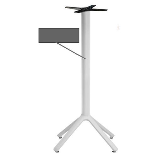 Basamento tavolo S-CAB Nemo Bianco 5065 AV 81