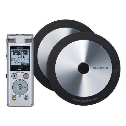 Registratore Olympus Meet & Record Kit edition large  DM-720 Silver