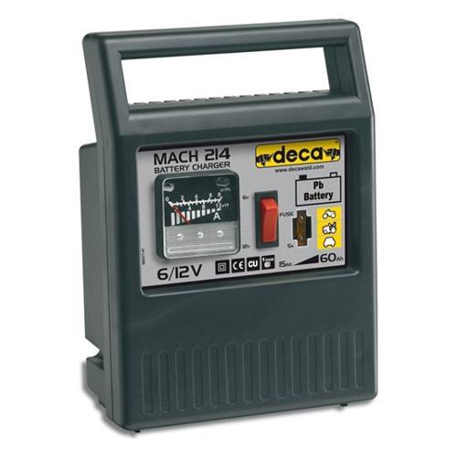 Caricabatterie Deca MACH 214 6/12 V 2/4 A 302200