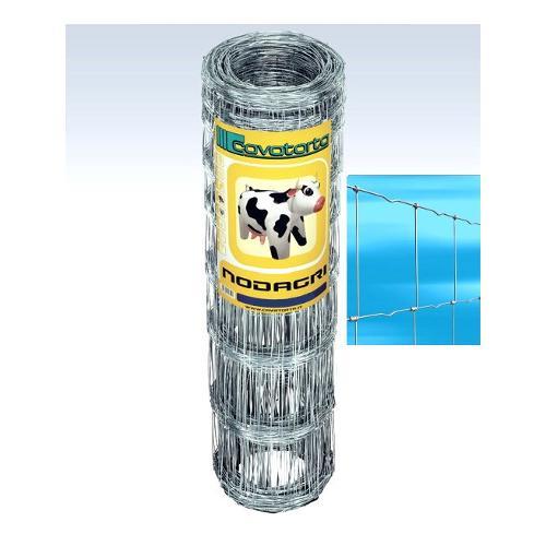 Rete recinzione Cavatorta filo acciaio zincato Nodagri zinco 50 x 1,2  m RNB04120050B