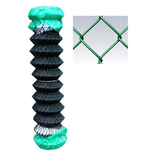 Rete recinzione Cavatorta filo acciaio zincato e plastificato filo d.2,2 Replax TL70 verde alpi 25 x 2  m GPR06200025B