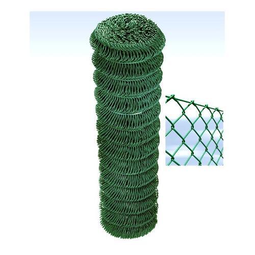 Rete recinzione Cavatorta filo acciaio zincato e plastificato filo d.2,7 Replax T70 verde alpi 25 x 1,5  m GP05150025B