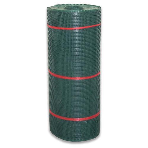 Rete recinzione Tenax hdpe polietilene ad alta densità Quadra verde 50 x 1  m 62345508