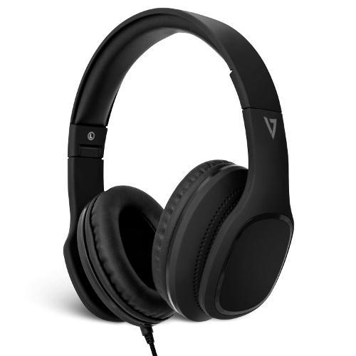 Cuffie microfono filo V7 HA701 HA701-3EP - Stereo Circumaurali Over The Ear Mini-jack 3,5 mm