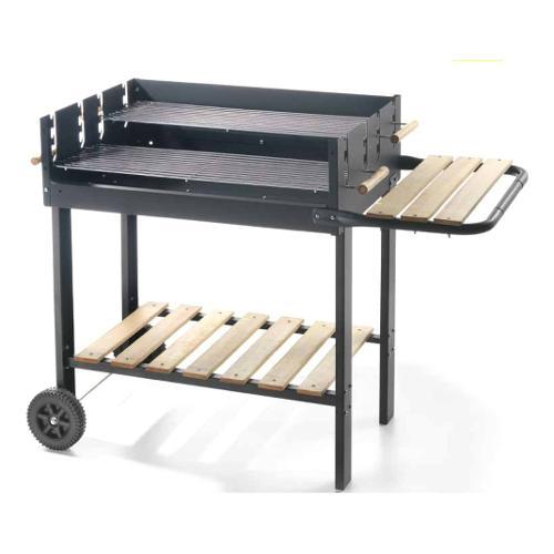 Barbecue Carbone Ompagrill Doppia Griglia 70-47 73500
