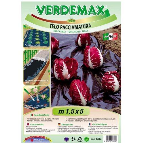 Telo pacciamatura Verdemax 6760 nero 5 x 1,5  m