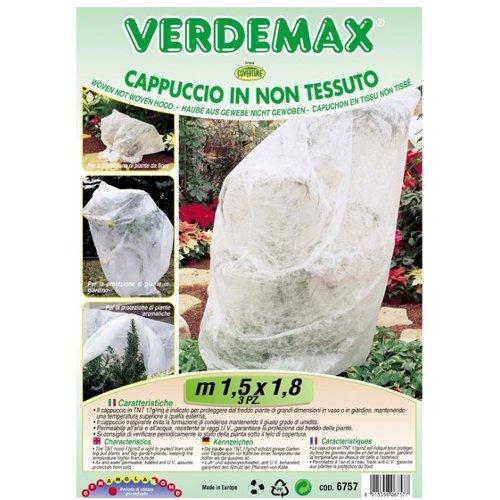Cappucci protezione piante Verdemax 6757 bianco 1,5 x 1,8  m