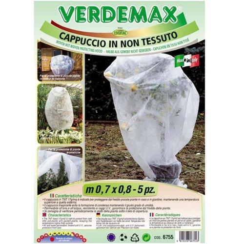 Cappucci protezione piante Verdemax 6755 bianco 70 x 80  cm
