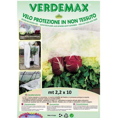 Telo protezione piante Verdemax 6752 bianco 10 x 2,4  m