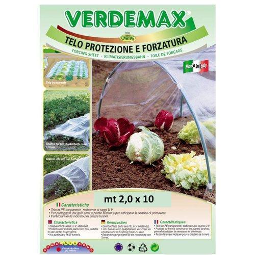 Telo protezione piante Verdemax 2547 trasparente 10 x 2  m