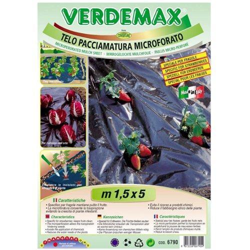 Telo pacciamatura Verdemax 6790 nero 5 x 1,5  m
