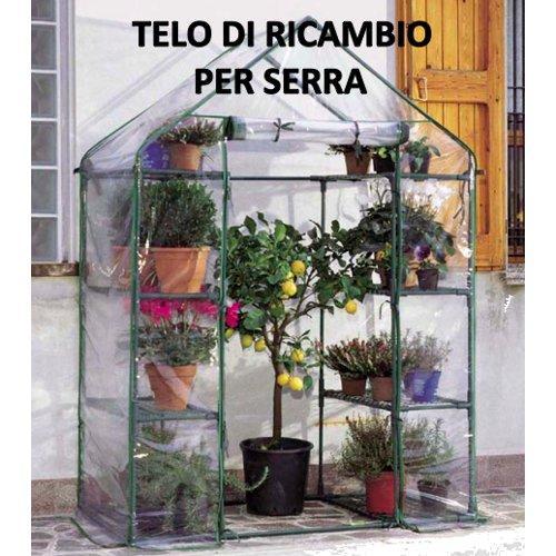 Telo serra Verdemax Ibiscus 2517 trasparente 140 x 73 x 200  cm