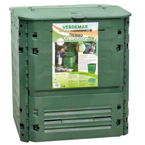 Composter Verdemax King 2893 verde 74 x 74 x 84  cm 400 L