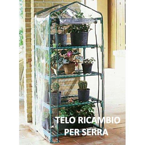 Telo serra Verdemax Azalea 4 2495 trasparente 70 x 50 x 158  cm